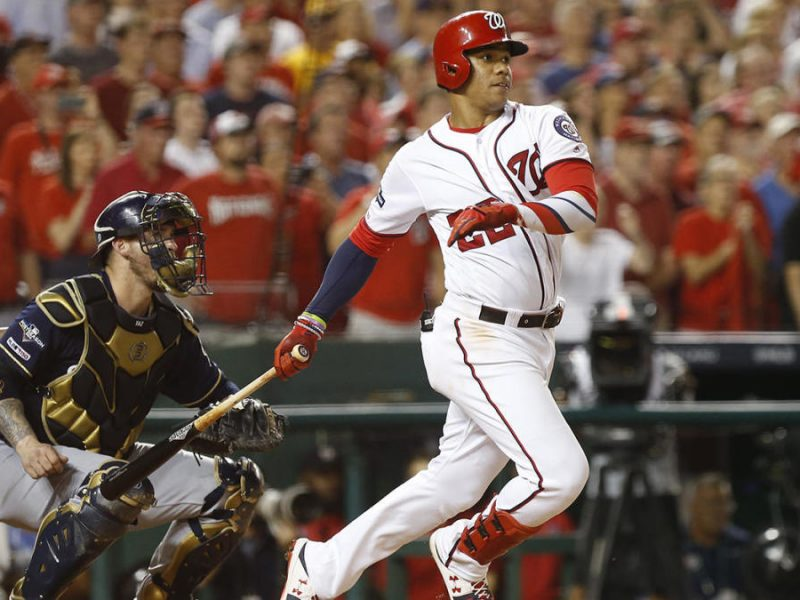 MLB: NL Wild Card-Milwaukee Brewers at Washington Nationals